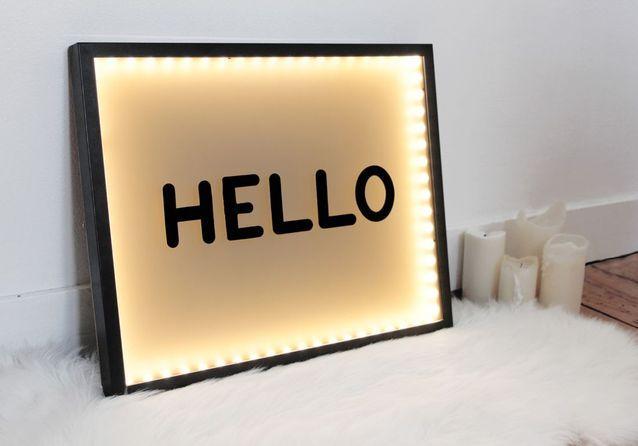 DIY : créez votre propre box lumineuse