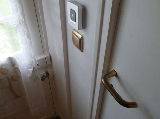 Maison cuivre poignee porte
