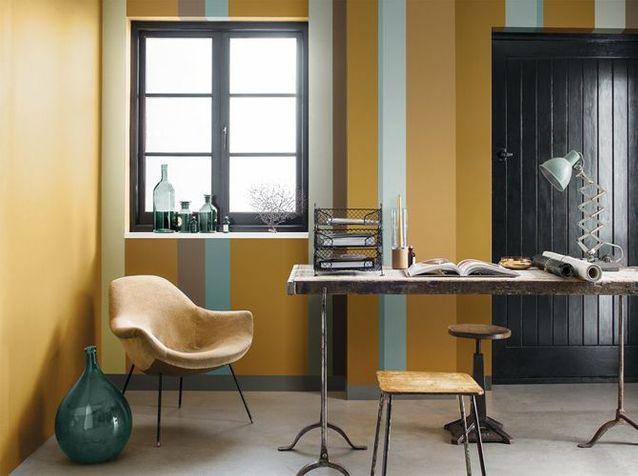 Un intérieur original grâce à la couleur