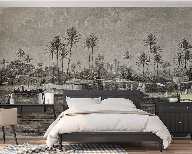 Papier peint panoramique pour la chambre