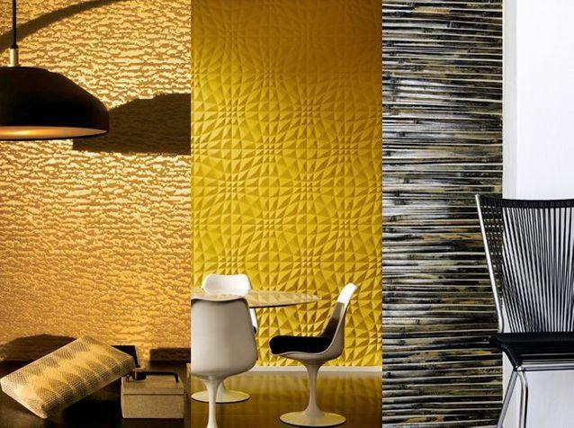 De La Texture Et Du Relief Au Mur Elle Décoration