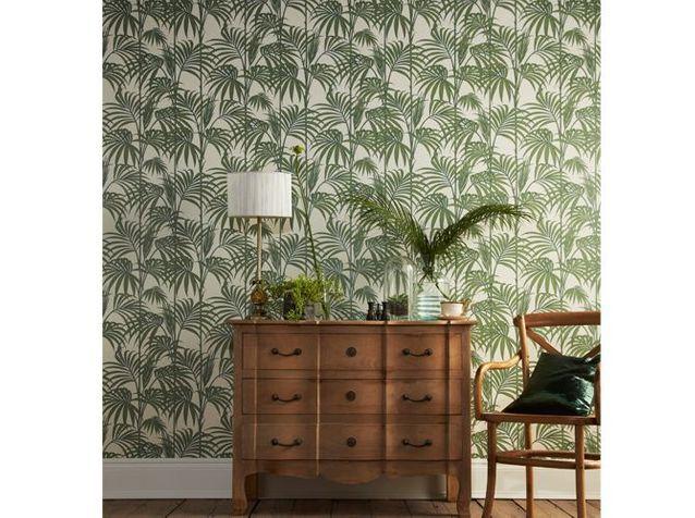 Papier peint tendance exotique : les palmiers
