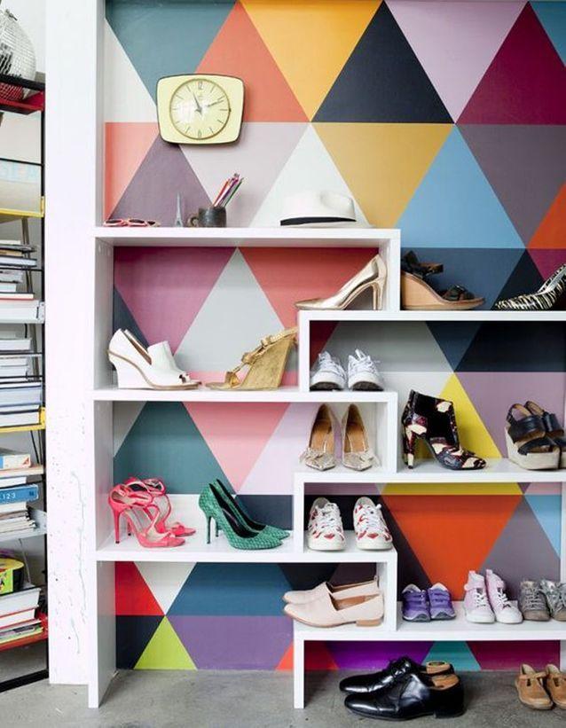 Range-chaussures : 15 astuces de rangements de chaussures qui ...