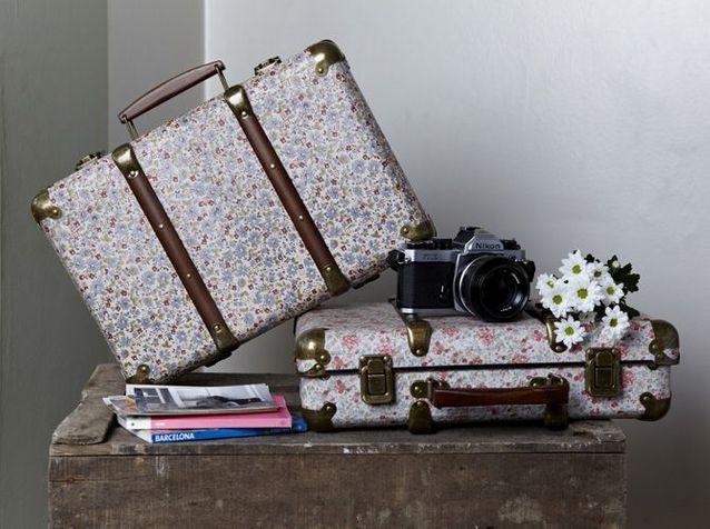 Les fleurs valise fleurie