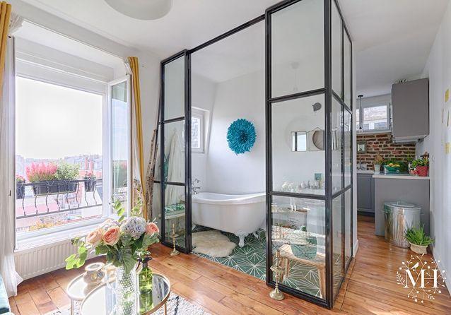 Avant/après : l'incroyable transformation d'un appartement de 34 m2