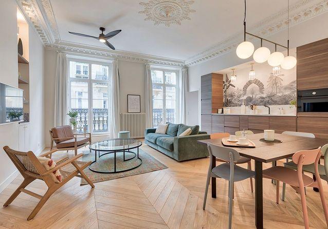 Avant/Après : splendeur et charme retrouvés pour ces anciens bureaux transformés en habitation