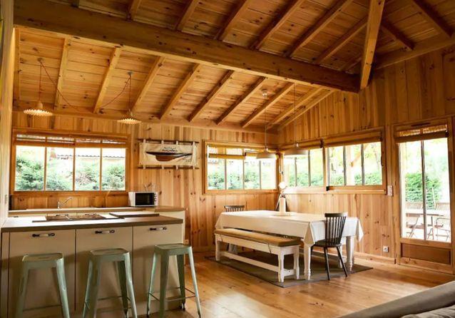 Villa en bois près du Cap-Ferret