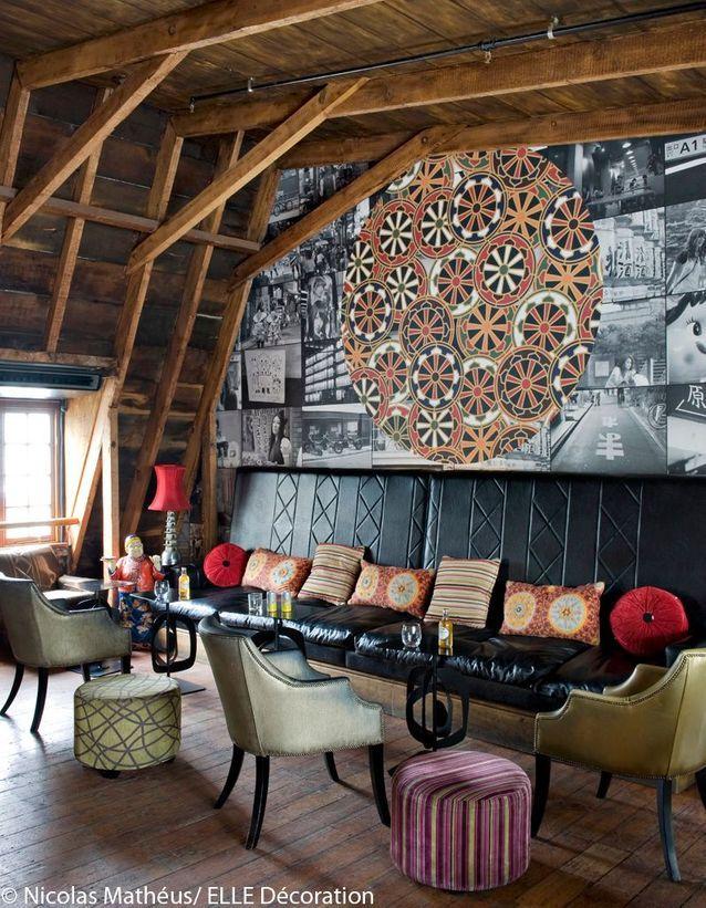 Bar Tjing-Tjing, restaurant dans les combles