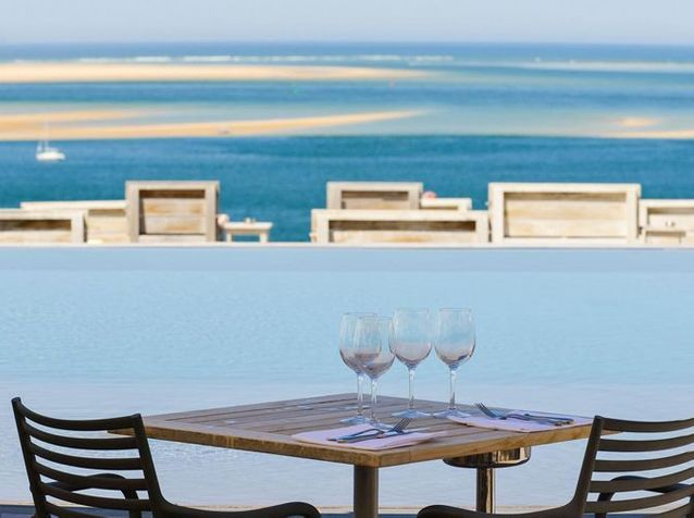L'hôtel La Co(o)rniche sur la dune du Pilat