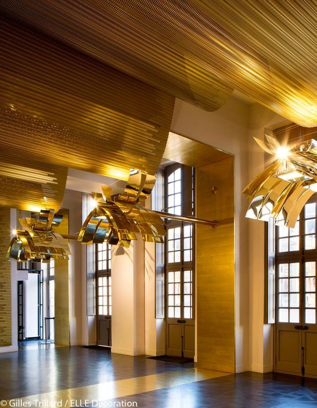Plafond doré
