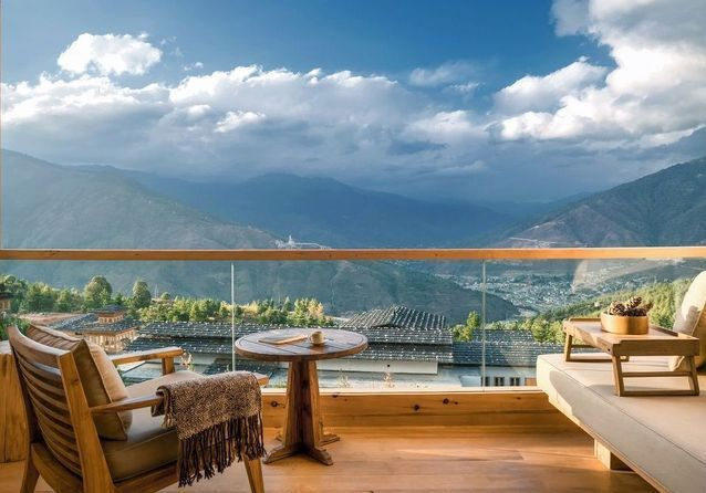Les plus belles chambres avec vue au monde