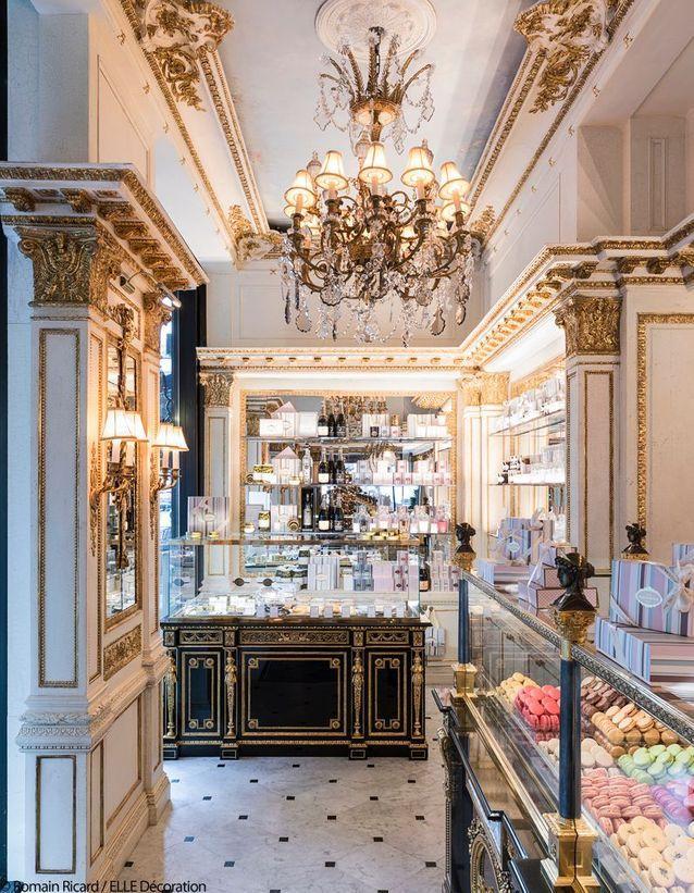 La boutique du Café Pouchkine