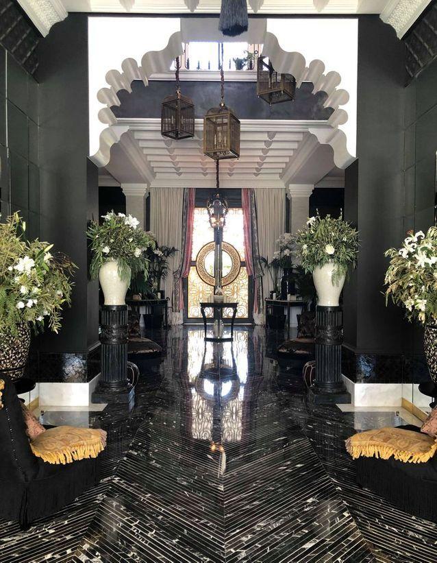 Le lobby du Palais Ronsard