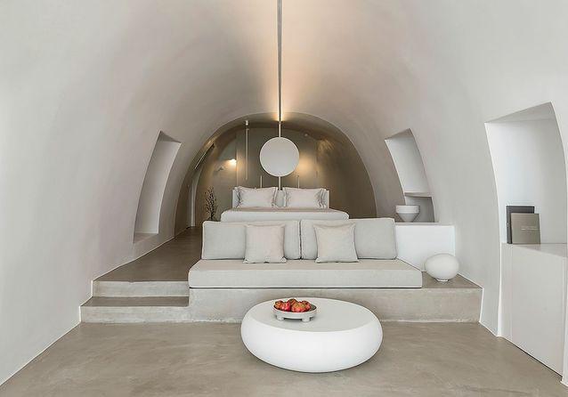 Hôtel design en Grèce : Hôtel Saint à Santorin