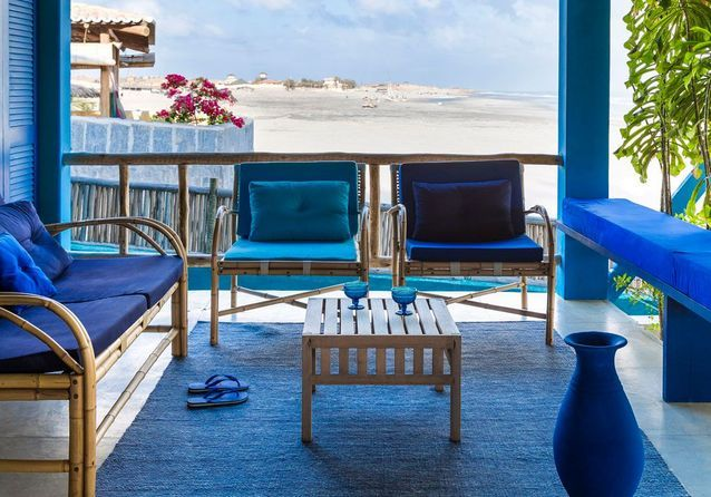 Le petit hôtel de rêve imaginé par Stella Cadente : du bleu, du bleu et encore du bleu !
