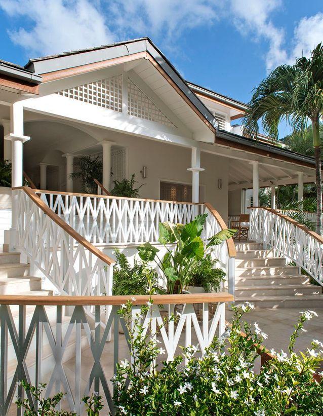 Hôtel au style caribéen