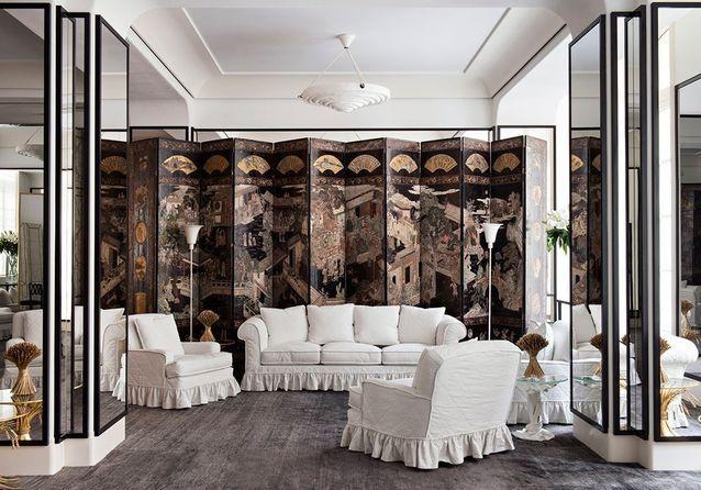 #ELLEDécoSpot : les salons Chanel revus par Jacques Grange