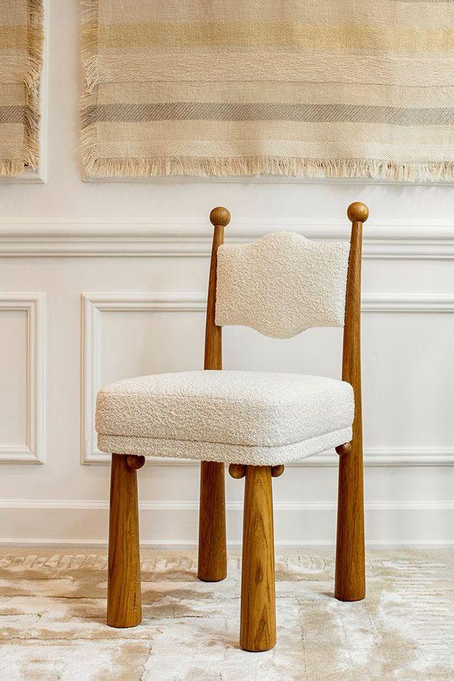 La chaise « Mawu », signée Laura Gonzalez