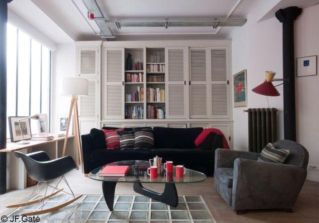 55 m² en magasin