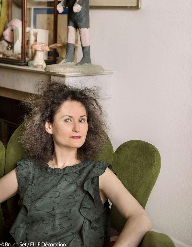 Carole Borraz, antiquaire et décoratrice