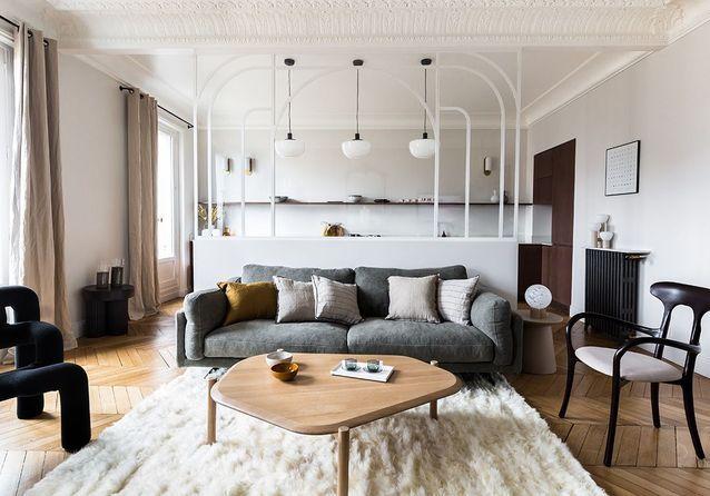 Cet appartement rénové passe de trois à quatre chambres