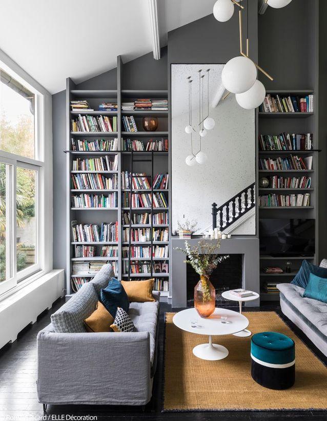 Salon parfait 复式客厅灰调沙发