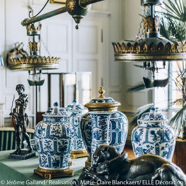 Des vases chinois du XVIIIeme siècle