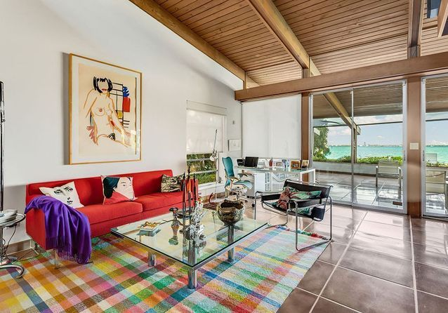 Cindy Crawford : son pied-à-terre ensoleillé à Miami