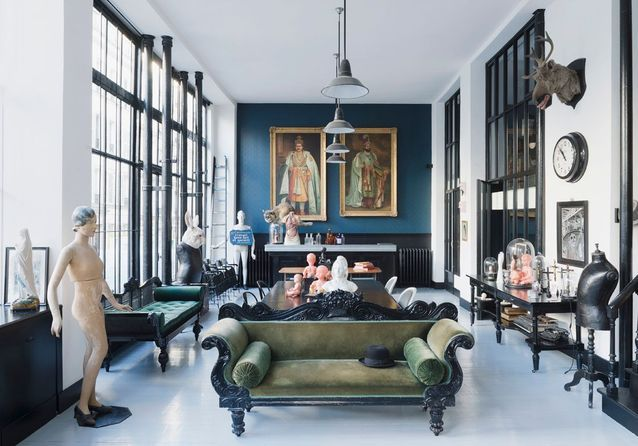 Le loft le plus kitsch de Paris ?