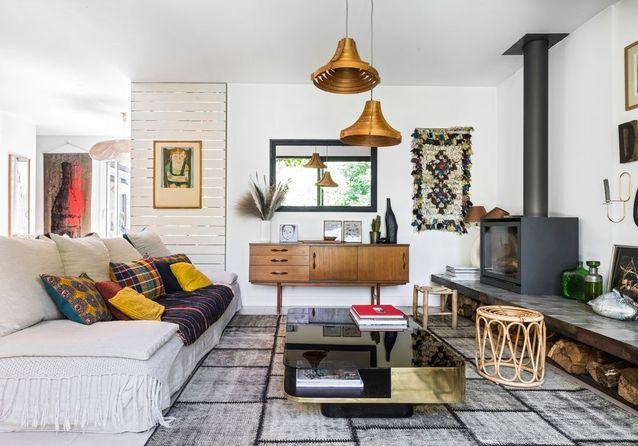 La jolie maison de Billie Blanket entre style vintage et esprit vacances
