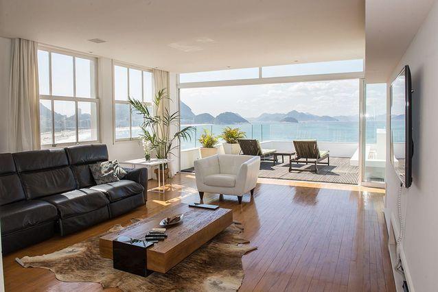 Un appartement avec piscine à Rio de Janeiro