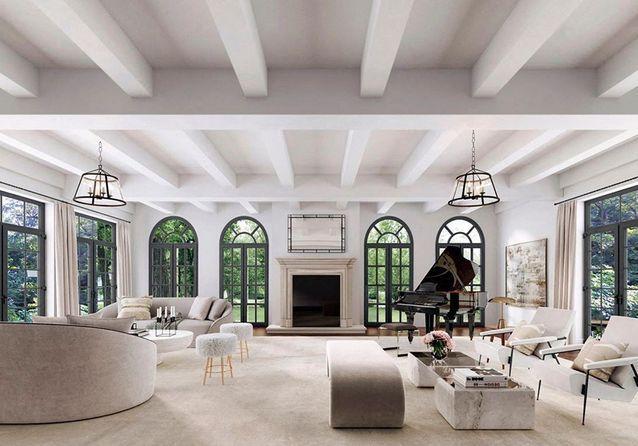 Grands espaces et inspiration méditerranéenne : les deux atouts de la villa d'Adam Levine