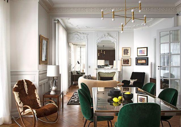 Photos De L Appartement Cosy D Un Collectionneur Bresilien Elle