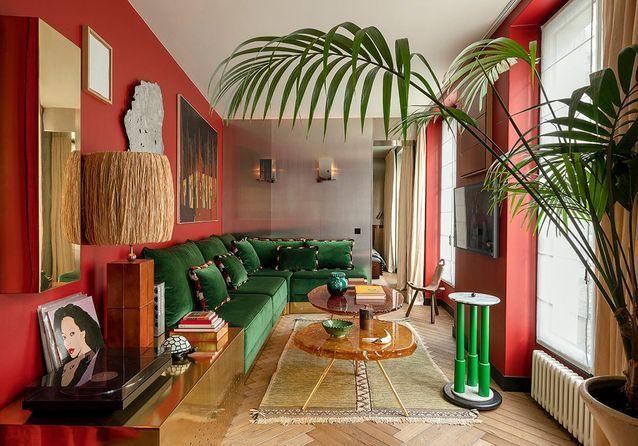 L'appartement parisien en enfilade de l'architecte Hugo Toro