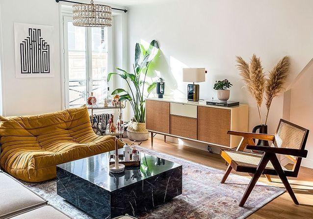 Luminosité et design pour le nouvel appartement de l'influenceur Raphaël Spezzotto-Simacourbe