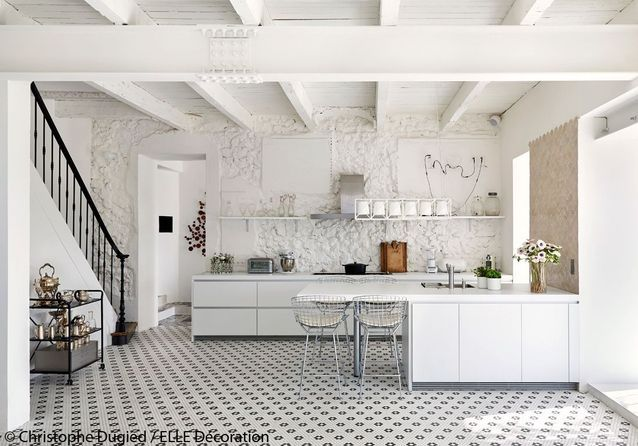 Une cuisine 100% immaculée