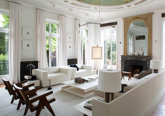 Paris : découvrez le sublime hôtel particulier réalisé par Stéphane Parmentier