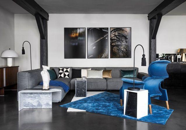 Paris Visitez Cet Incroyable Appartement Noir Sous Les Toits Dun Ancien Couvent