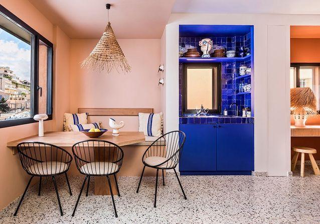 Un appartement familial de 53 m2 façon Cabanon Le Corbusier