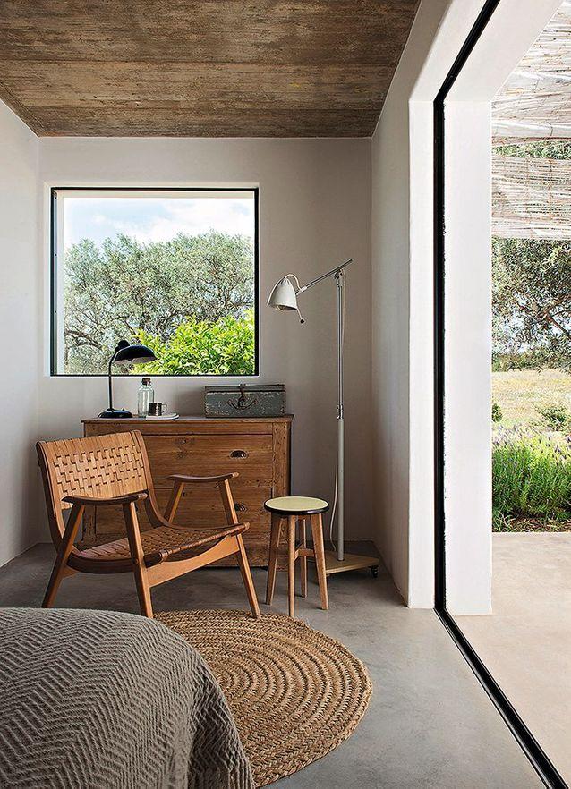 Une chambre de la Pensão Agrícola, en Algarve