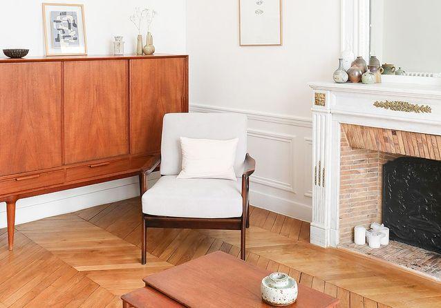 Rénovation : un appartement épuré au charme moderne