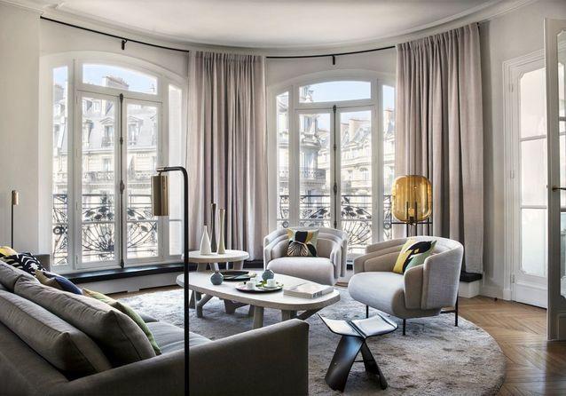 Un appartement haussmannien moderne et très élégant - Elle Décoration