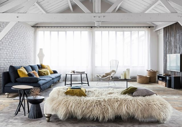 Un loft décoré dans un esprit chalet, parfait pour l\'hiver ...