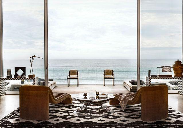 Une maison californienne ouverte sur le Pacifique - Elle ...