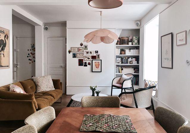 Visite privée chez Elise Simian Karsenti, Westwing