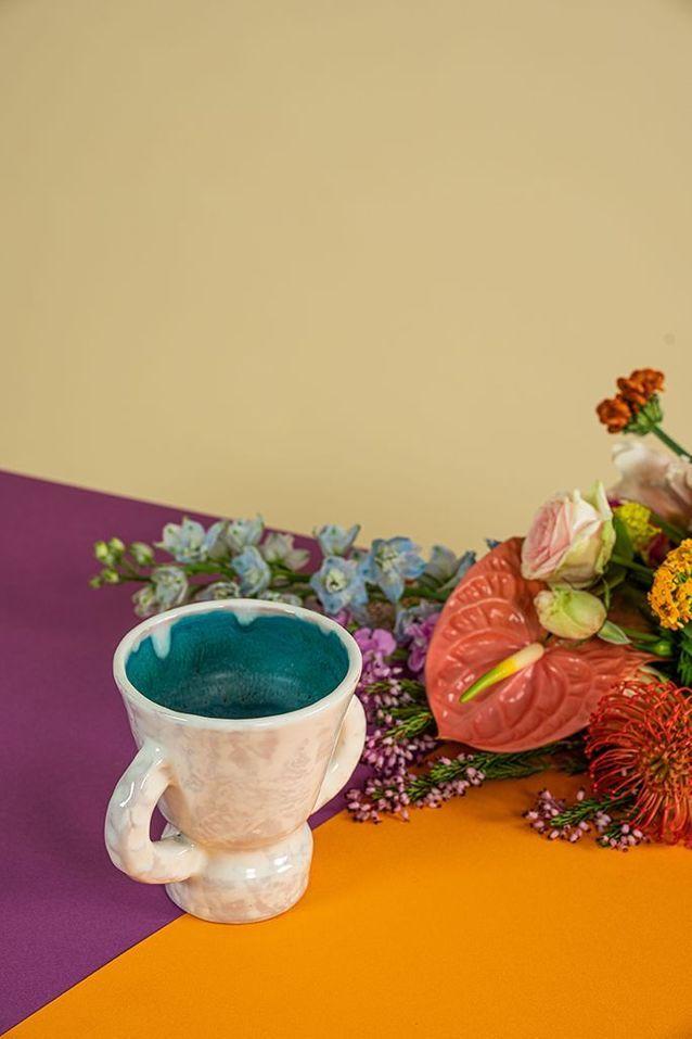 Vase en céramique de Vallauris