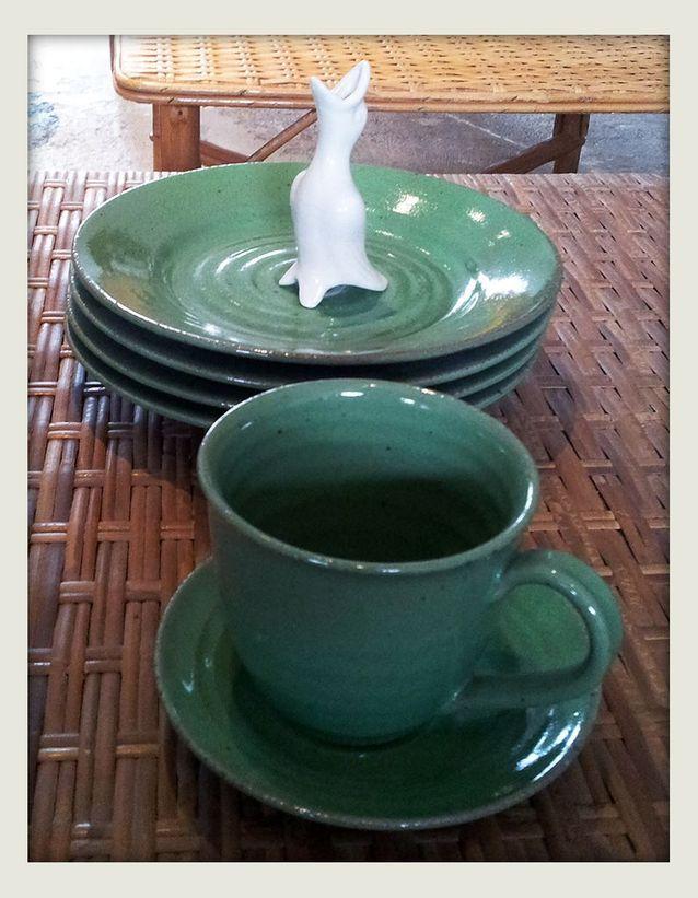 Vaisselle en grès japonais