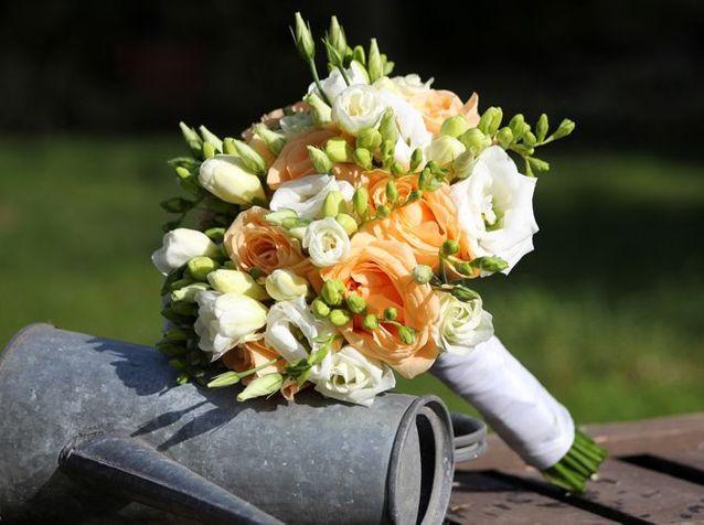 Fleurs Mariage Elle Decoration