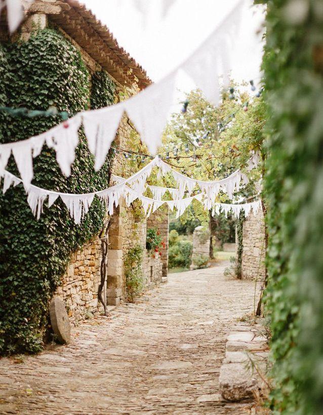 Un mariage champêtre en 20 idées déco - Elle Décoration