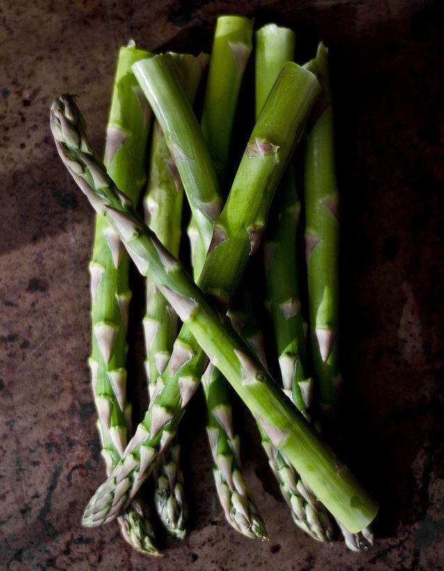 Aliment diurétique : l'asperge